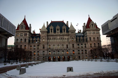 State Capitol in Albany