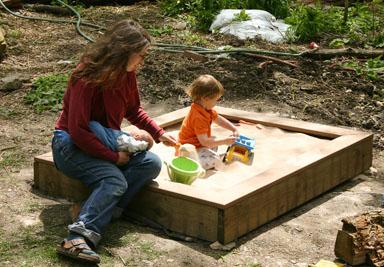 Family sandbox.