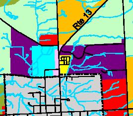 Dryden hamlet area