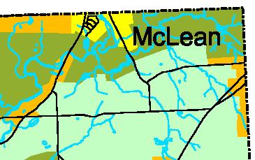 McLean hamlet area
