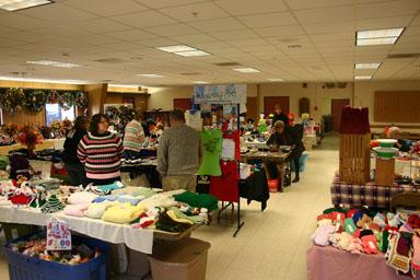 Dryden Seniors Bazaar at Neptune Hose Company.