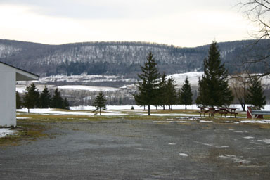 View of Dryden Lake from Lakeview Golf Course