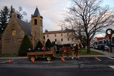Horse & Wagon history tour