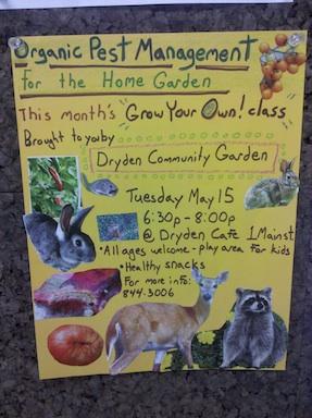 Organic pest control meeting.