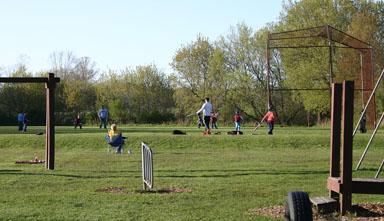 T-ball practice.