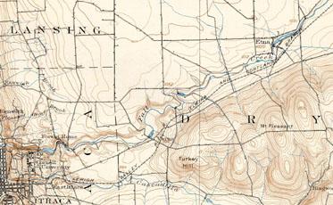 western Dryden, 1900