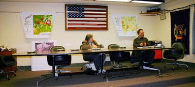 Planning Board members