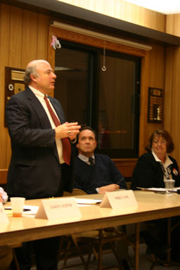 Mike Lane (D), running for County Legislature, District 14.