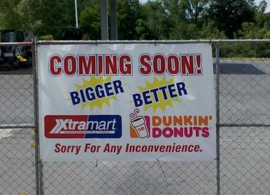 XtraMart closed temporarily