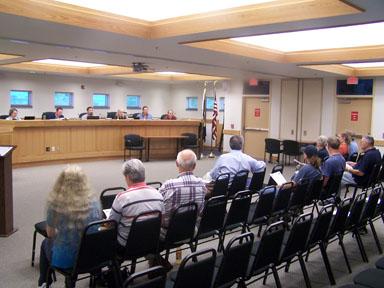 Dryden Town Board meeting