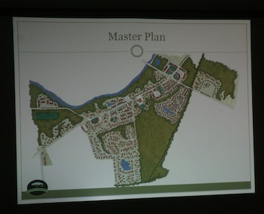 Proposed long-term buildout of (re)development areas
