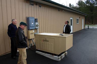 New generator at VVFC