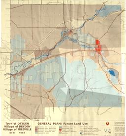 1968 General Plan Map